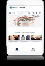 Juweldo Schuck und Uhrmacherkunst iPad