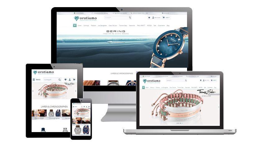 Orotiamo.de - Online Shop für Schmuck und Uhren