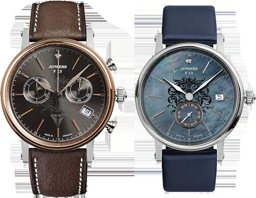 Junkers Uhren bei Juwelier Bergmann in Walsrode und auf www.OROTIAMO.de