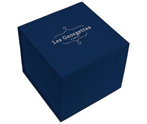 Les Georgettes werden wunderschön verpackt